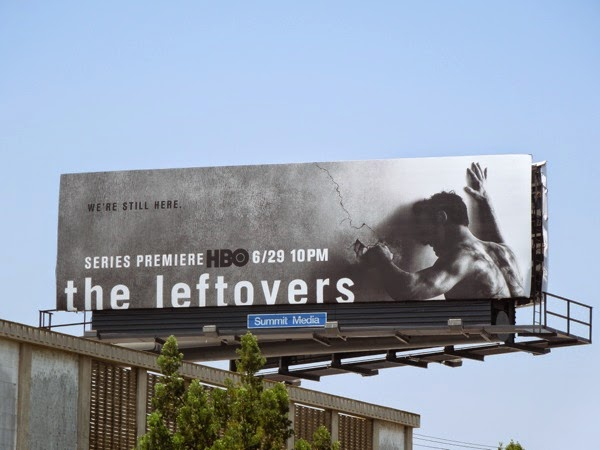 The Leftovers series premiere billboard