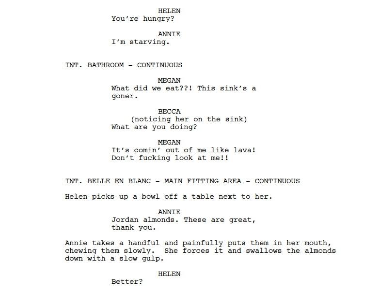 neil mossey every single oscar screenplay script cool stuff on