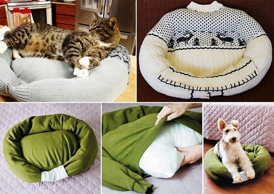 Assez DIY: recycler ses vêtements en tapis, robe, bonnet etc | Kitty  AF47