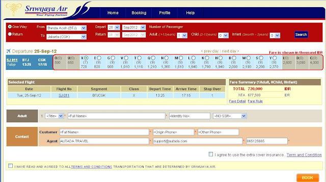 7 Tips Mencari Tiket Pesawat Murah SriwijayaAir