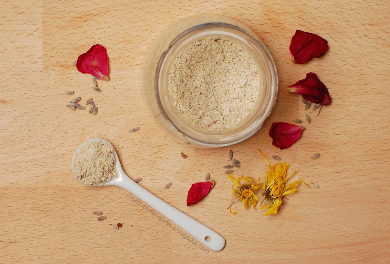 DIY Lavender Grains Cleanser Exfoliator