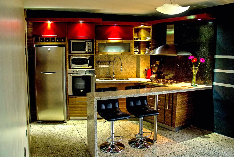 Cocina obra arte for Cocinas de obra