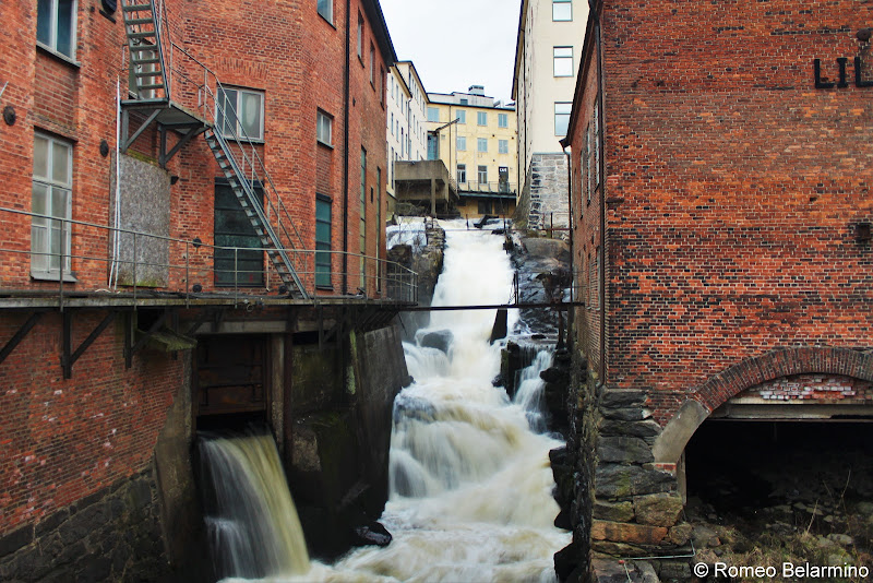 Molndals Kvarnby Rapids Things to Do in Gothenburg Sweden