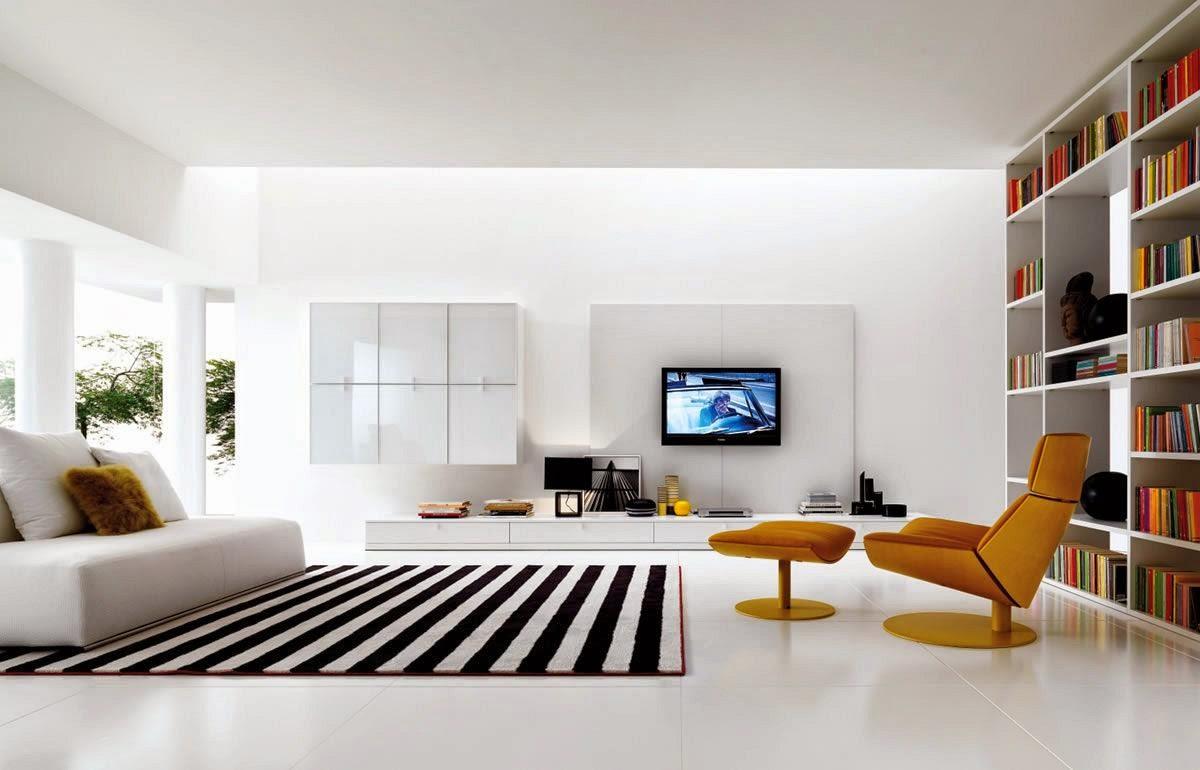 Living Room Decorating Ideas with Big Screen TV | Kuovi
