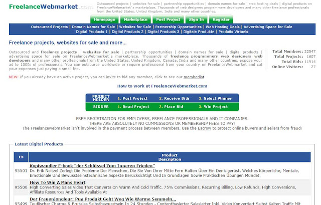 FreelanceWebmarket
