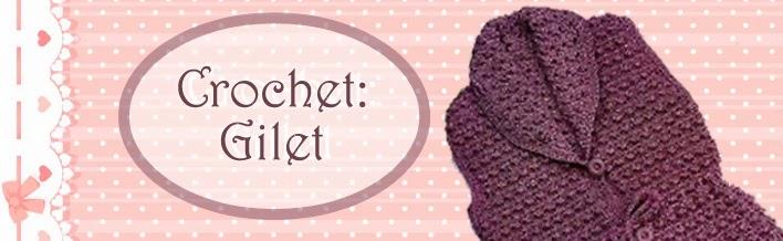 Relasé Crochet Gilet Alluncinetto Schema Modello E Spiegazioni