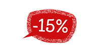 sconto del 15% su tutto fino all'8 dicembre