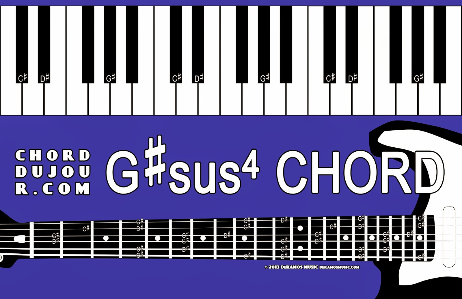 Chord du jour dictionary gsus4 chord dictionary gsus4 chord hexwebz Choice Image