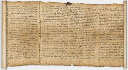 Gulungan Laut Mati Berusia 2.000 Tahun Muncul di Internet