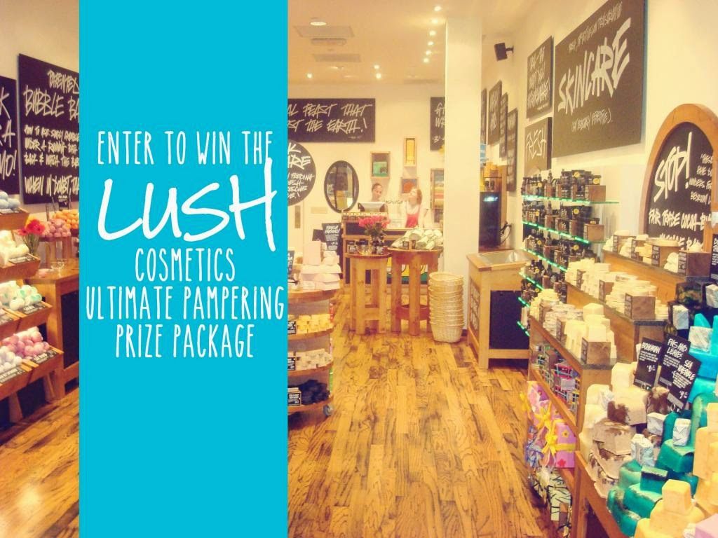Lush Cosmetics Ultimate Pampering Package Giveaway