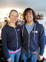 Natalie and Owen Lewis, owners of Genki cafe, St Agnes
