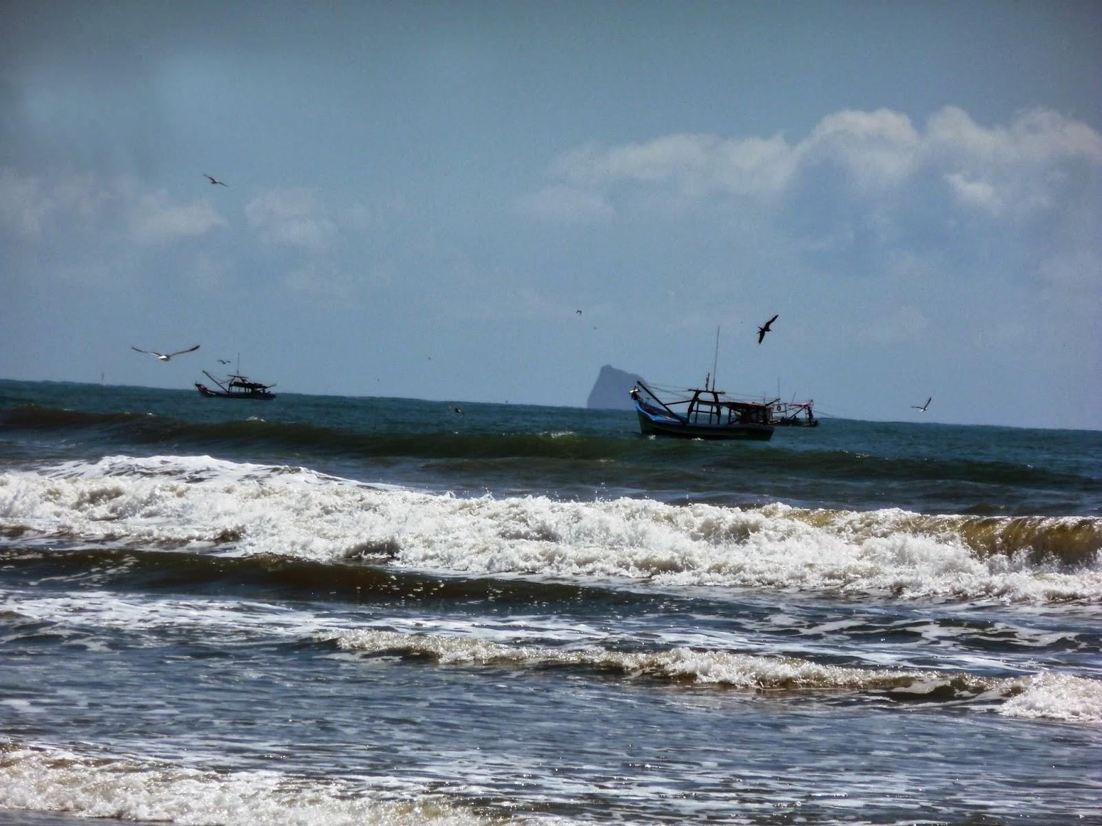 Pêcheurs de crevettes - Superagüi, Brésil
