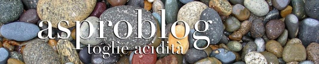 Aspro Blog, toglie acidità