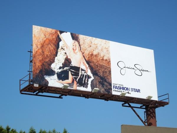 Jessica Simpson SS13 billboard