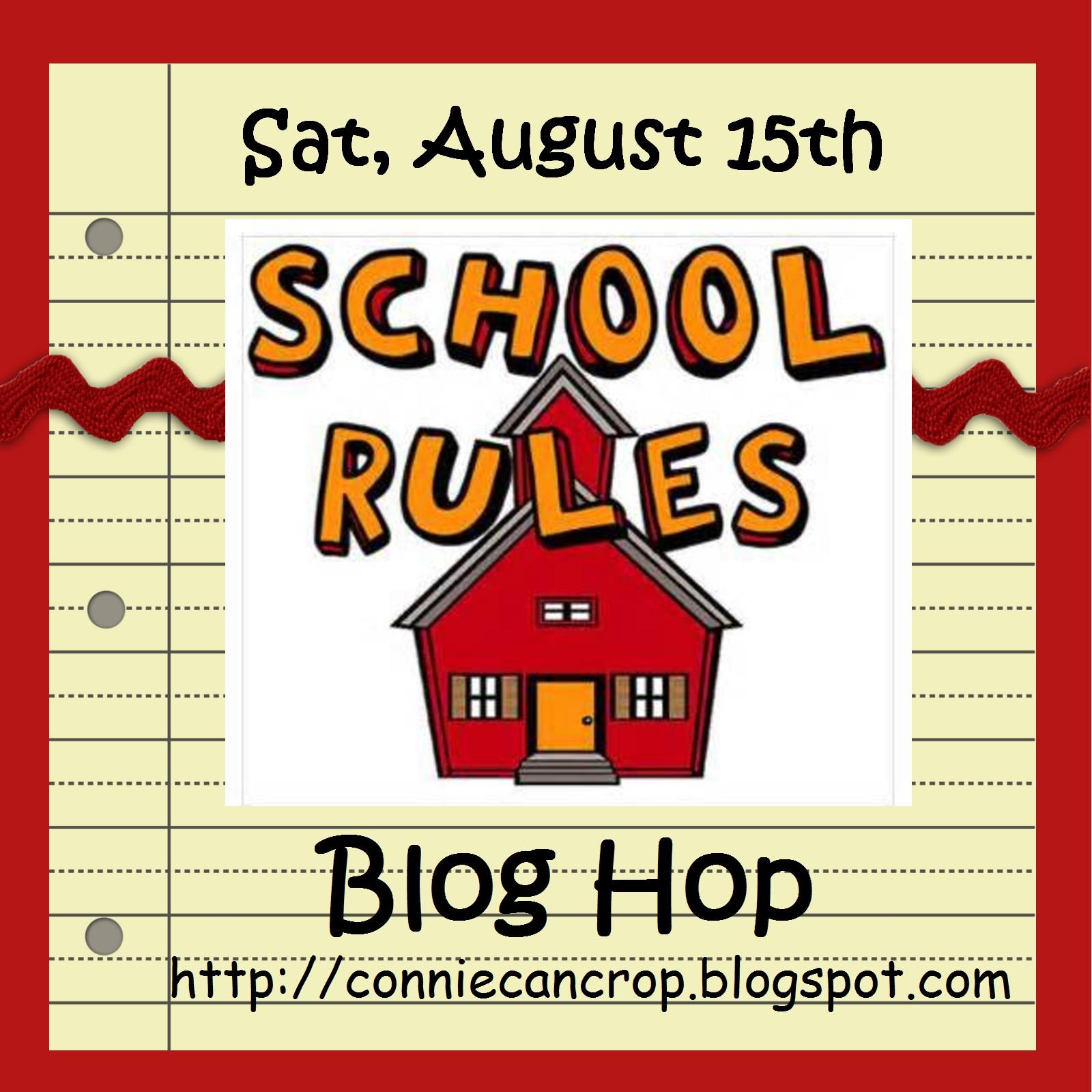 School Rules Blog Hop
