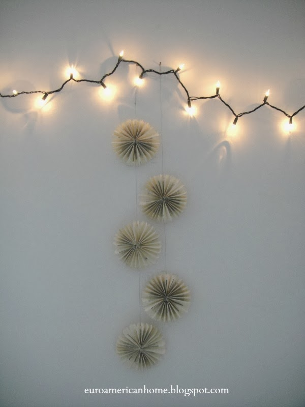 Make paper snowflakes book crafts EuroAmericanHome