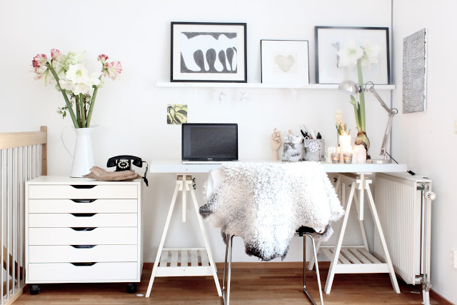 my scandinavian home my home christmas work space. Black Bedroom Furniture Sets. Home Design Ideas