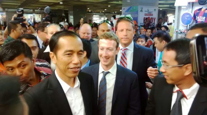 Mark Zuckerberg Bertemu Jokowi