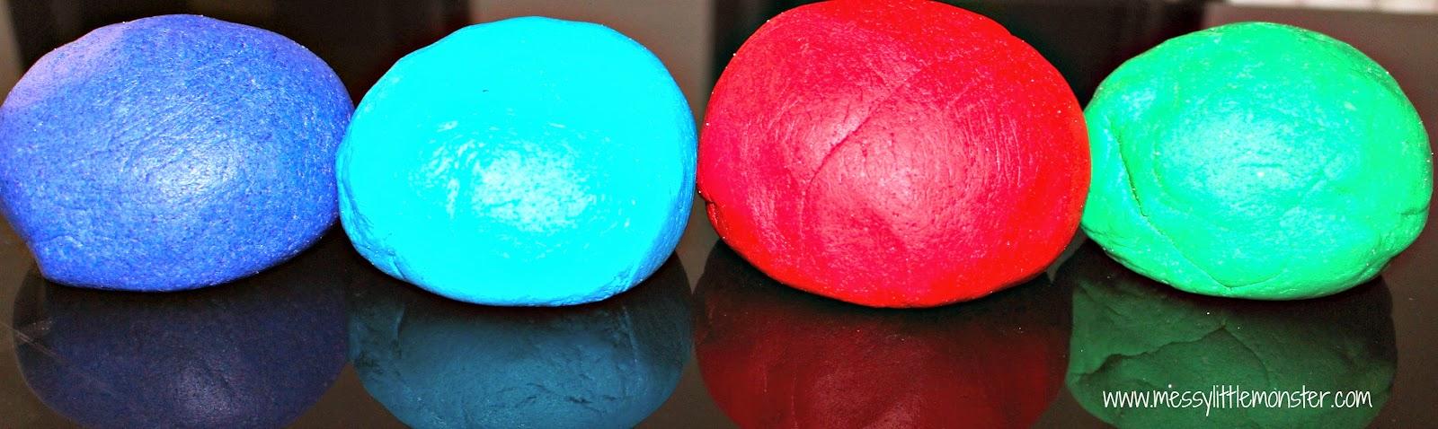 coloured salt dough recipe