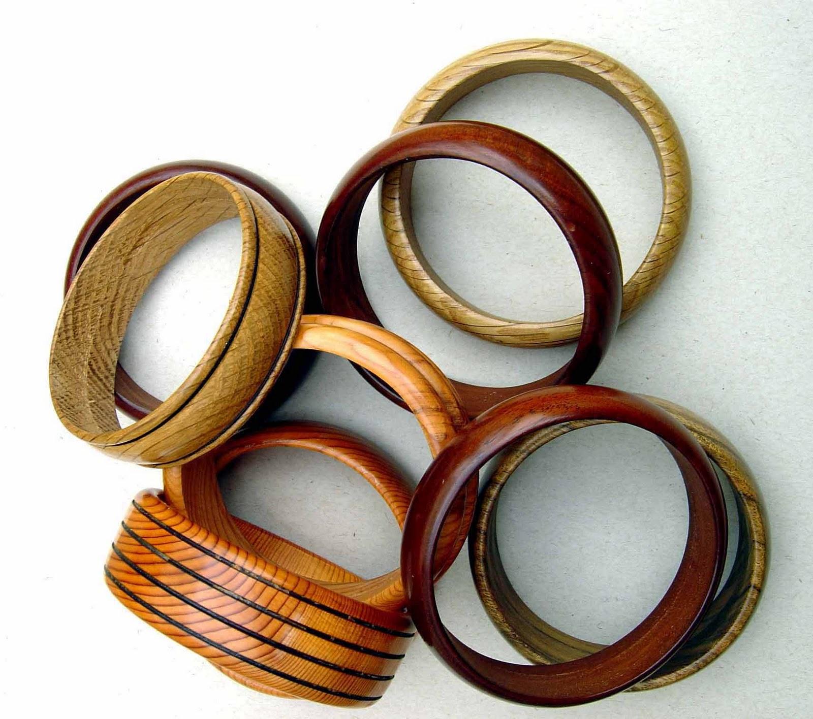 fashion2teen  wooden bangles