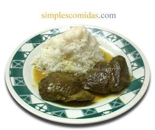 bondiola de cerdo al curry
