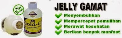 Legalitas Jelly Gamat Gold G