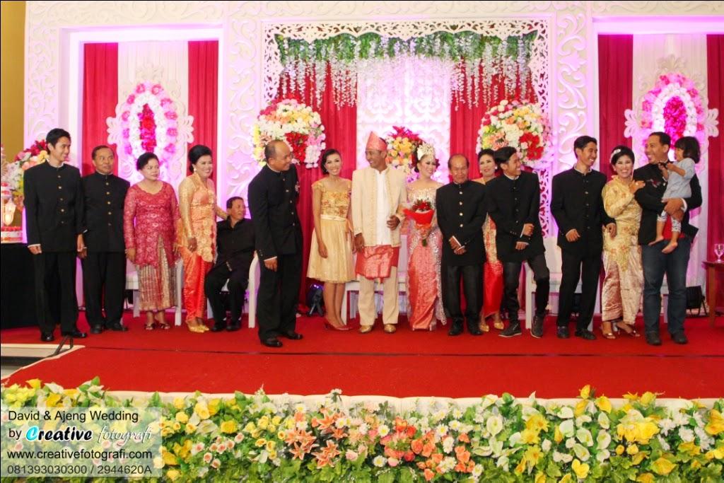 foto candid keluarga pernikahan lucu dan unik