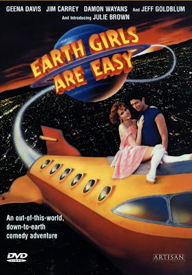 earth girls are easy poster 1988