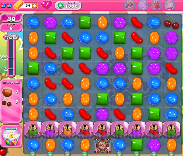 Candy Crush Saga 1362