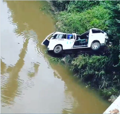 bus fell into lagoon ogun state