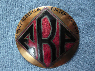 FRP radiator emblem badge vintage