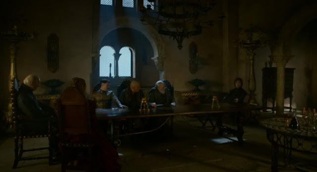 Juego de las sillas tyrion cersei tywin - Juego de Tronos en los siete reinos