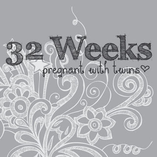 32 Weeks Pregnant with Twins {An Update}