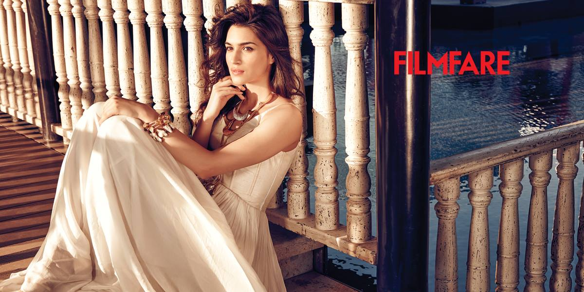 kriti sanon sizzles on the cover page filmfare