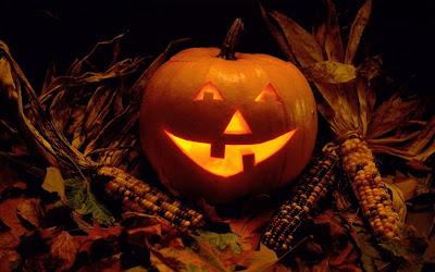 Dovleac lumanare halloween