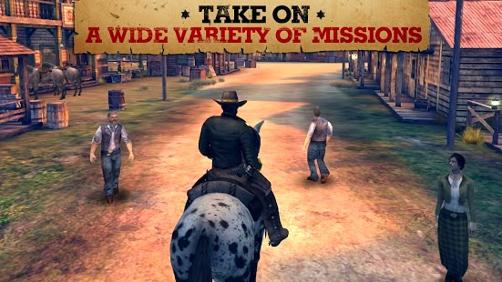 Six-Guns v1.8.0 Unlimited Money for Android