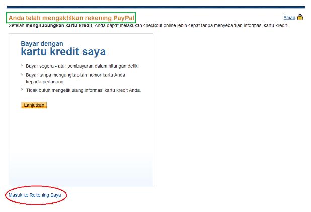 Cara Daftar PayPal Gratis