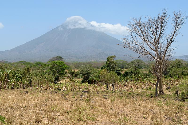 Le volcan Concepción sur l'île d'Ometepe