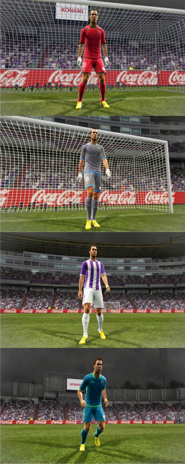 PES 2013 Real Valladolid 2014-2015 Kits by MD33