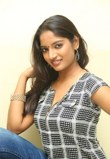 Actress Keerthi  Pictures in Jeans at TLLILKBL Press Meet  3