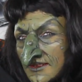 Creepy Witch Makeup Tutorial