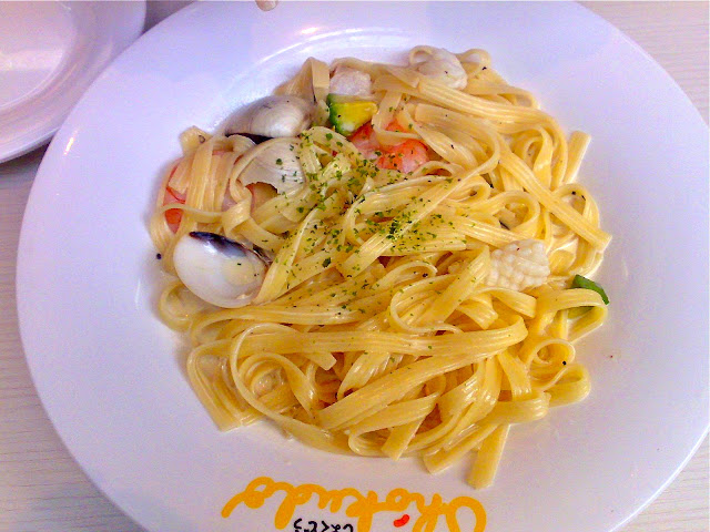 Seafood Pasta at Shokudo Cafe