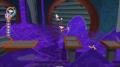 juego de Phineas y Ferb