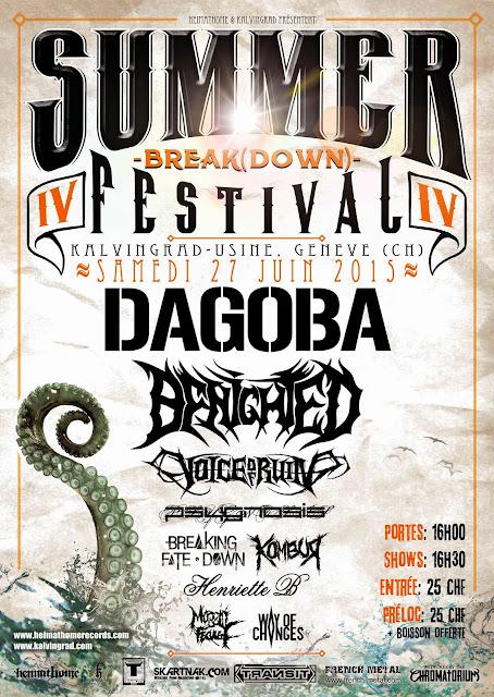 Dagoba, Benighted, Voice Of Ruin...