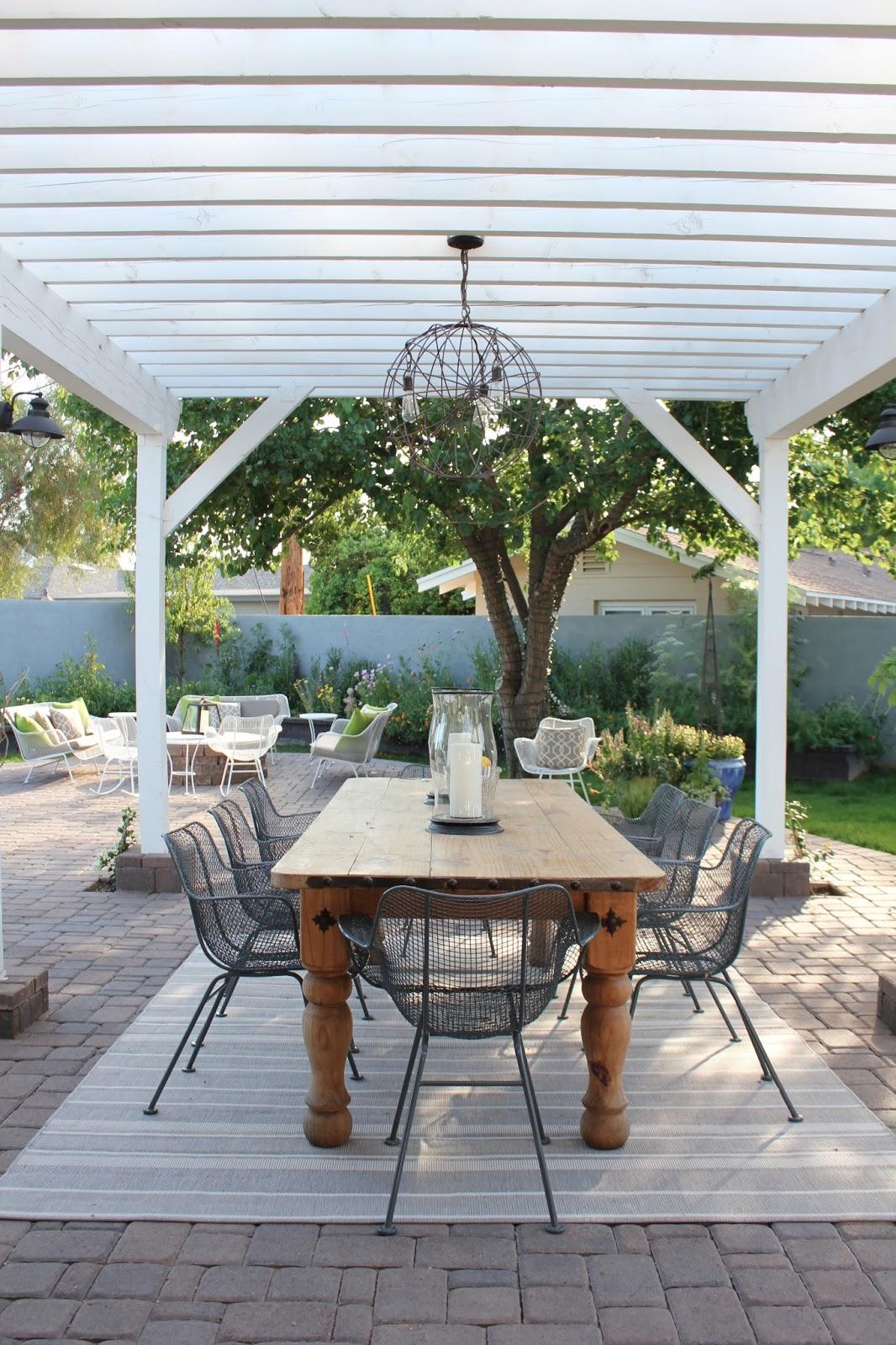 midcentury modern house makeover backyard nursery and guest bath