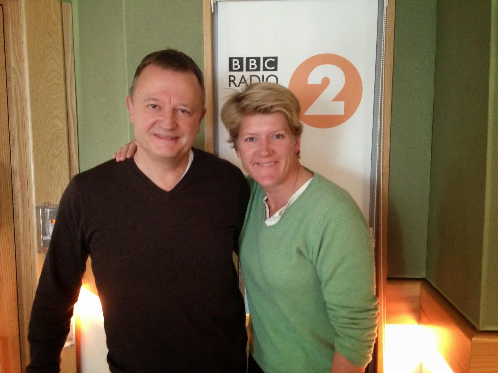 BBC Radio 2 with Clare Balding - March 2014
