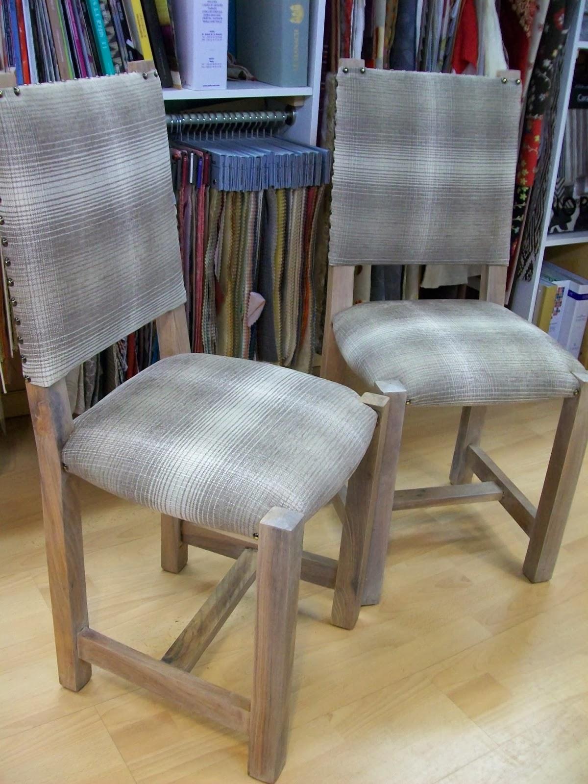 L 39 chaise paill en garniture tissu - Nettoyer chaise en paille ...