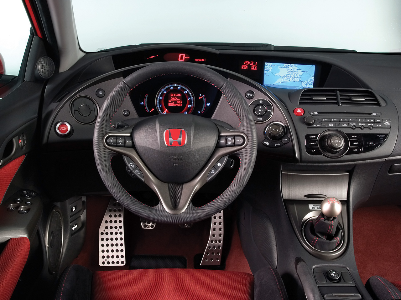 Fast Cars Honda Civic Si Interior Desing Looks Very Nice