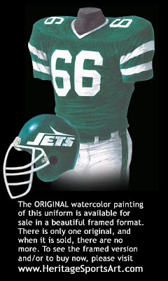New York Jets 1986 uniform