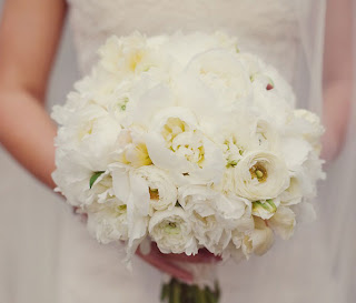 white Peonies flowers